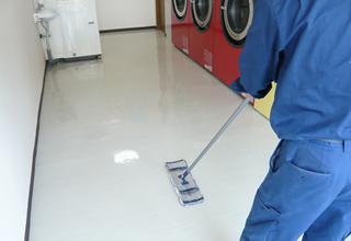 法人床面清掃