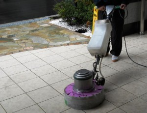 外周り機械洗浄
